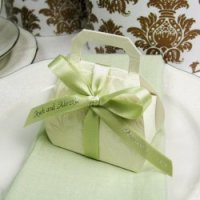 Do it yourself embossed purse favor.