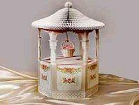 Bridal shower wishing well centerpiece decoration