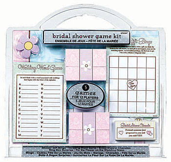 Game kit for your bridal shower.