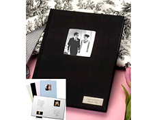 engraved signature picture frame