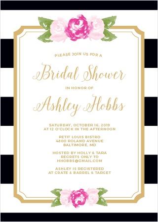 Bridal Shower Garden Theme Party