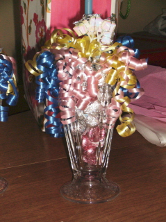 Ice Cream Sundae Bridal Shower Centerpiece