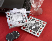 las vegas theme bridal shower favor
