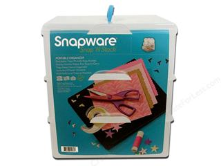 Snapware is a great organizational storage system for the crafter. It is durable and expandable.