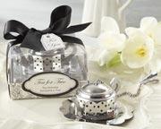 teapot tea infuser bridal shower favor