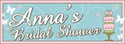 Banner for a bridal shower