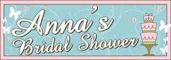 Banner for a bridal shower