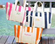 colorful tote bag ready to be used for the beach or any outing