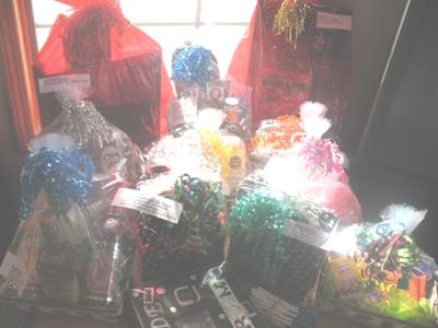 Assorted Prizes for Shower Games