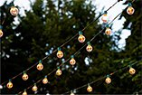 string lights for decorating bridal showers